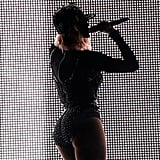 Beyoncé gave a glimpse of her backside while performing at the Made in America Festival in Philadelphia in September 2013.