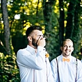 Groom's Emotional Reaction During the First Look