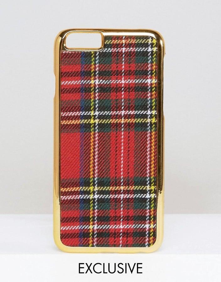 Asos WAH LONDON x Plaid iPhone 6 Case ($15)