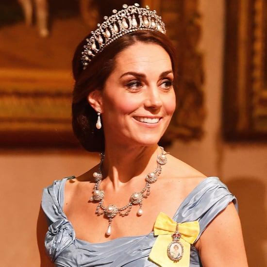 Kate Middleton Wearing Princess Diana's Tiara October 2018