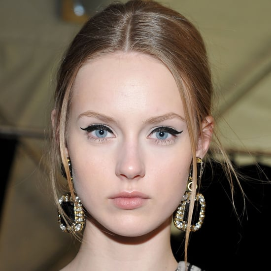 And for a simple yet elegant finish, top the winged-liner look off with Sex Appeal Blush and a cinnamon-toned lip colour.