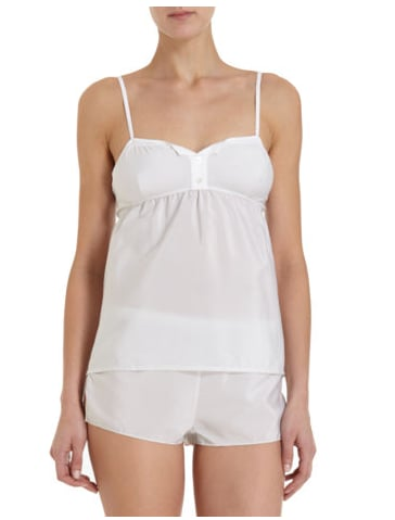 This little sleep set would be ideal for warm Spring-to-Summer nights.  31. Phillip Lim Button Camisole ($165)
