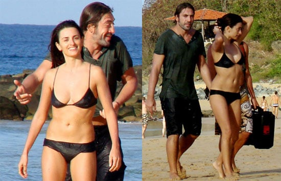 Penelope and Javier Get All Wet in Brazil