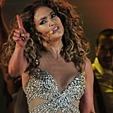 Jennifer Lopez on her tour.