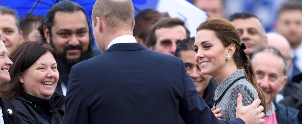 Kate Middleton Pearl Cluster Earrings