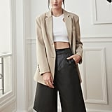 Pixie Market Riley Leather Culottes