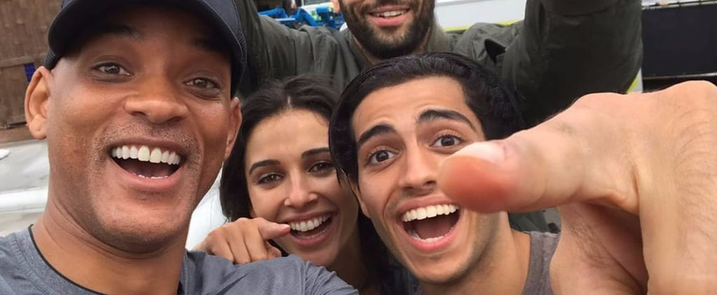 Aladdin Movie Cast Instagrams