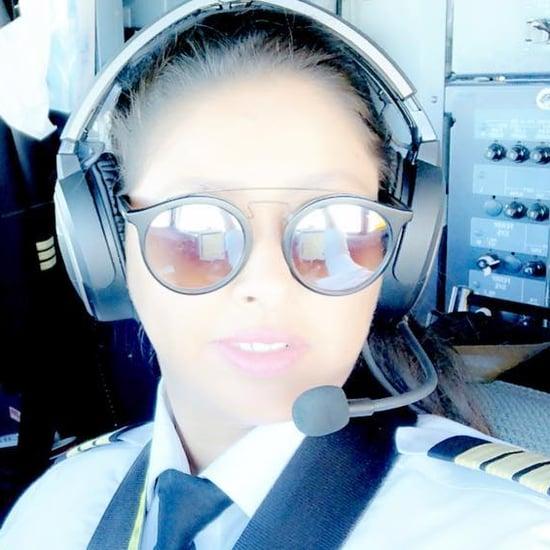 ياسمين الميمني أول طيارة في شركات الطيران التجاري بالسعودية