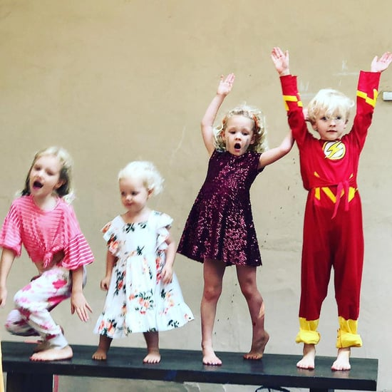 James Van Der Beek's Kids Perform The Greatest Showman Song