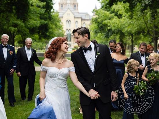 Feed the Beast Star Erin Cummings Marries Limitless Actor Tom Degnan
