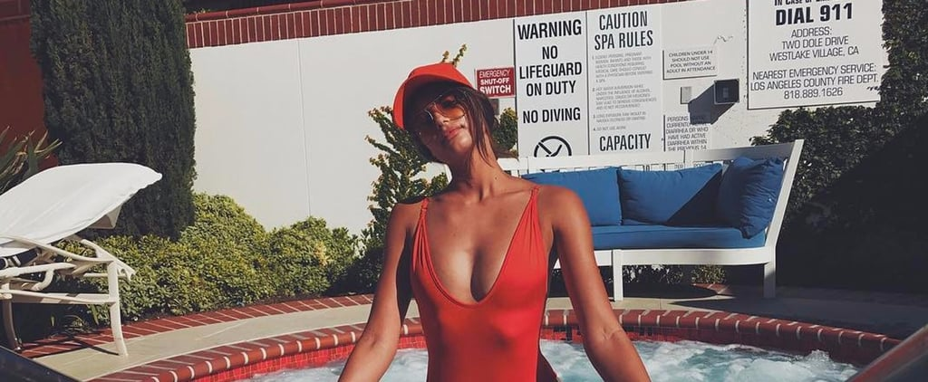 Taylor Hill's Wearing the Sexy Swimsuit You're About to See Everywhere