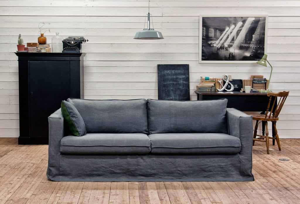 Pictured Bemz Cover For Karlstad Three Seater Sofa Loose