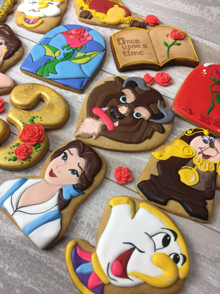 Beauty And The Beast Cookies Popsugar Food Photo 1
