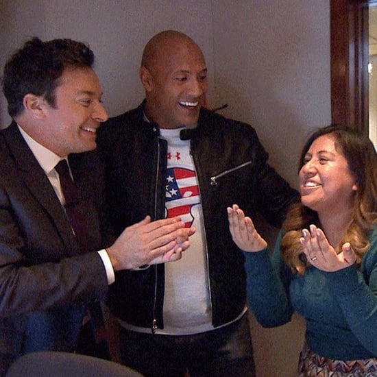 Dwayne Johnson Surprises Military Family on Tonight Show