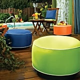 Outdoor Decor Splash N Dash Inflatable Indoor / Outdoor Pouf