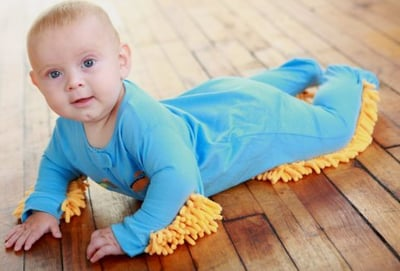 Weird Baby Mop Suit Raises Eyebrows (PHOTOS)