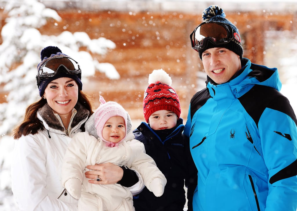 When He Braved the Cold For a Sweet Family Photo