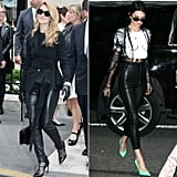 Celine's Kendall Jenner Leather Skinnies Moment