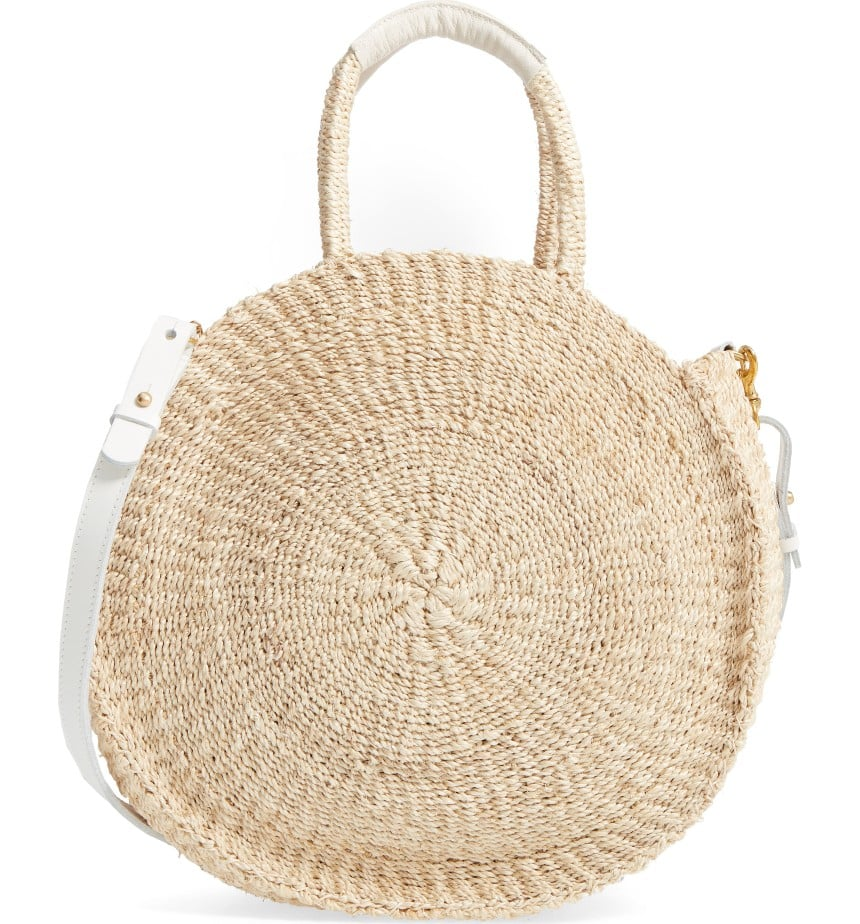 You might not have enough PTO days for a beach vacation, but you can totally work those island vibes into your outfit with Clare V.'s handwoven satchel ($225).