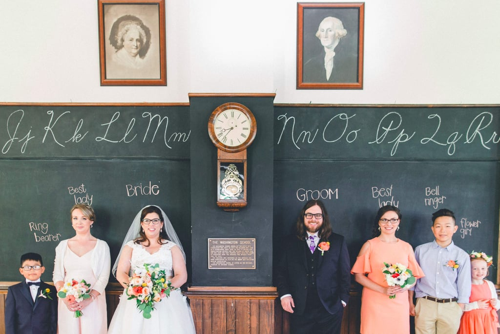 Schoolhouse Wedding