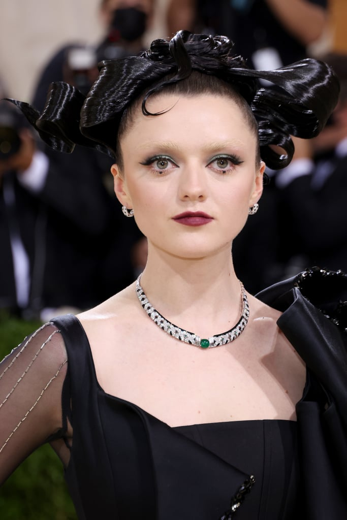 Maisie Williams's Crystal Eye Makeup at the Met Gala 2021