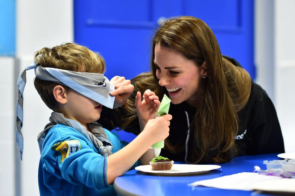 Kate Middleton Visits 23rd Poplar Beaver Scout Colony