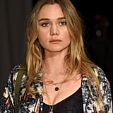 Immy Waterhouse at Burberry