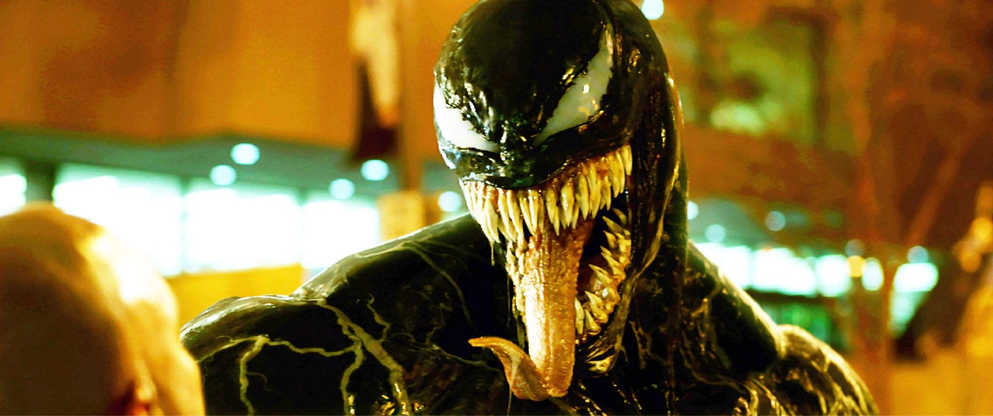 VENOM, Venom (voice: Tom Hardy), 2018.  Columbia Pictures /Courtesy Everett Collection
