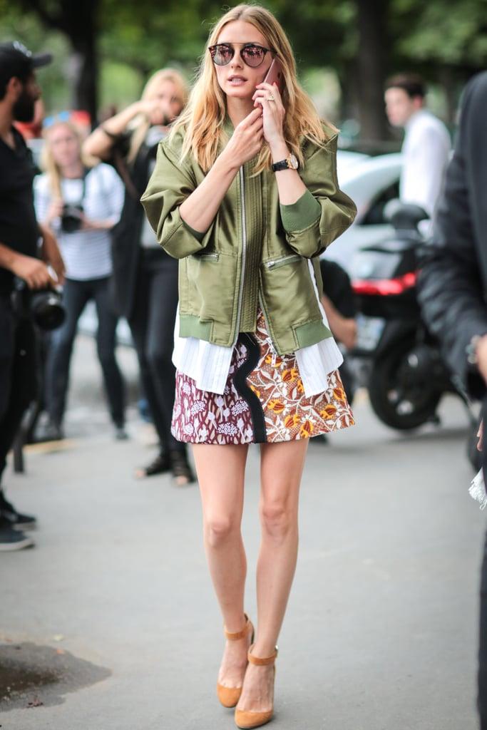 Olivia Palermo at Couture Fashion Week Fall 2016