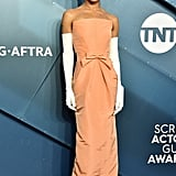 Zoë Kravitz in Oscar de la Renta at the 2020 SAG Awards