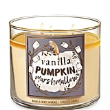 Vanilla Pumpkin Marshmallow Three-Wick Candle