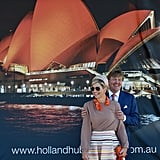 Queen Máxima and King Willem-Alexander pose for photos in Sydney, Australia.