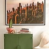 Victoria Aguirre Cactus Sunset Art Print