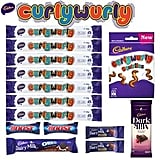 Curly Wurly Superbag ($10) Includes:  7x Curly Wurly  45g Oreo Double Choc  110g Curly Wurly Squirlies