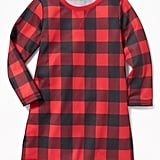 Buffalo Plaid Sleep Dress