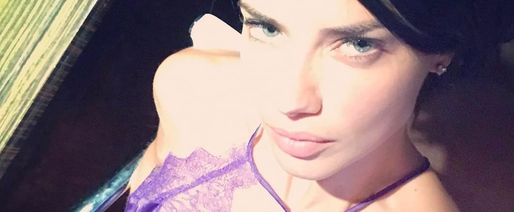 We Need to Talk About How Hot Adriana Lima's PJs Are