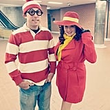 Where's Waldo and Carmen Sandiego