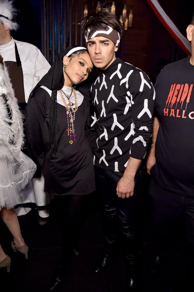 Zoë Kravitz as a Nun and Joe Jonas as Derek Zoolander  sc 1 st  Popsugar & Zoë Kravitz as a Nun and Joe Jonas as Derek Zoolander | Celebrities ...