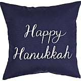 Outdoor Happy Hanukkah Pillow ($20)