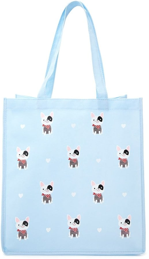 Forever 21 FOREVER 21+ French Bull Dog Shopping Tote