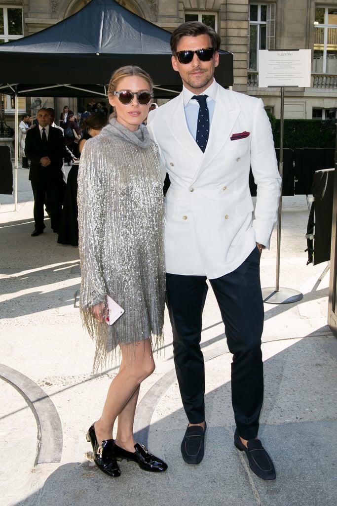 e085eeff4af1 Olivia on Her Husband Johannes Huebl s Fashion Sense