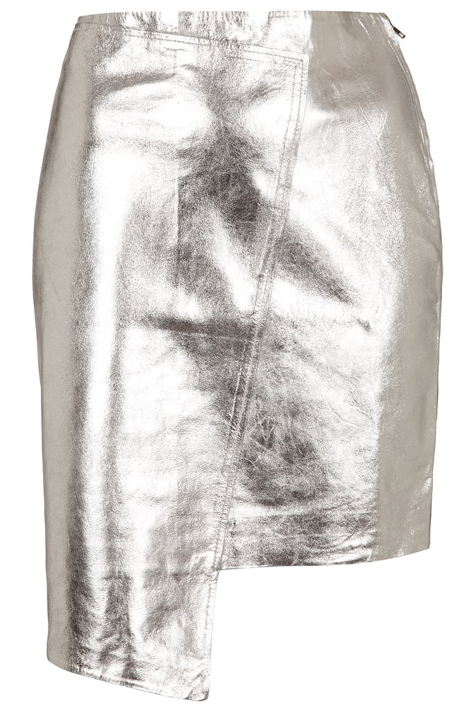 leather skirt ($170) is not just a great price but also an on-trend shape in an unexpected color. Perfect for holiday parties and for a daring day at the office.  — Melissa Liebling-Goldberg, fashion and beauty director