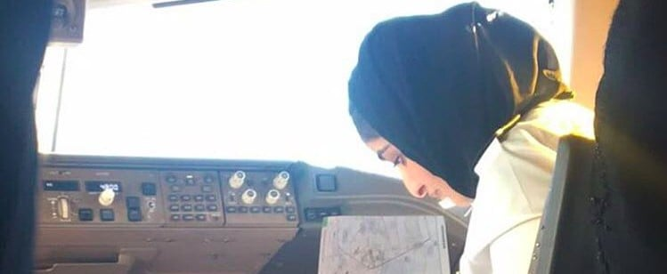 Dubai's Sheikha Mozah Takes Her Historic First Flight