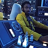 Lando was born to wear that mustard-colored ensemble.