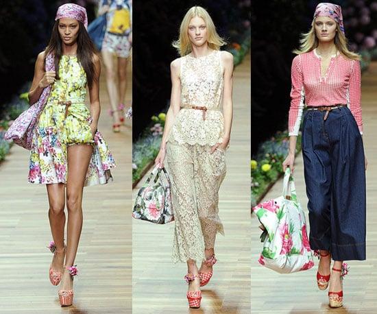 Spring 2011 Milan Fashion Week: D&G