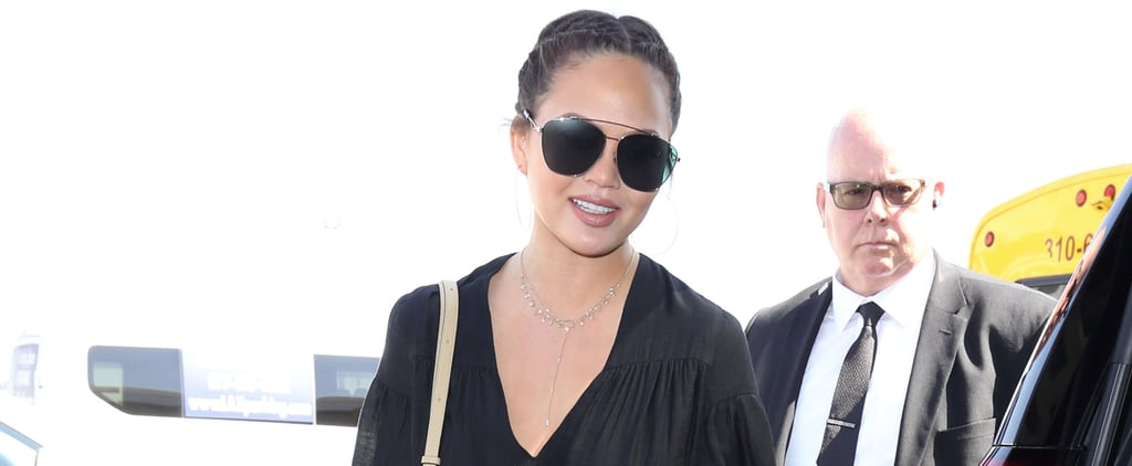 Chrissy Teigen's Two-Piece Outfit Will Change the Way You Get Dressed Tomorrow