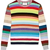 Gucci Cashmere and Merino Striped Top