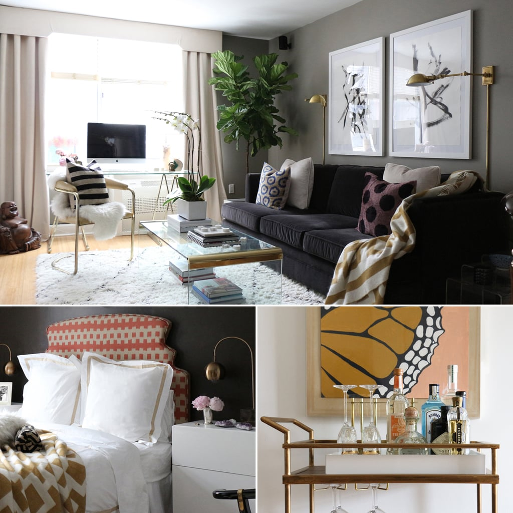 1 Br Apartments Nyc: Interior Designer's NYC Apartment Is Full Of DIY