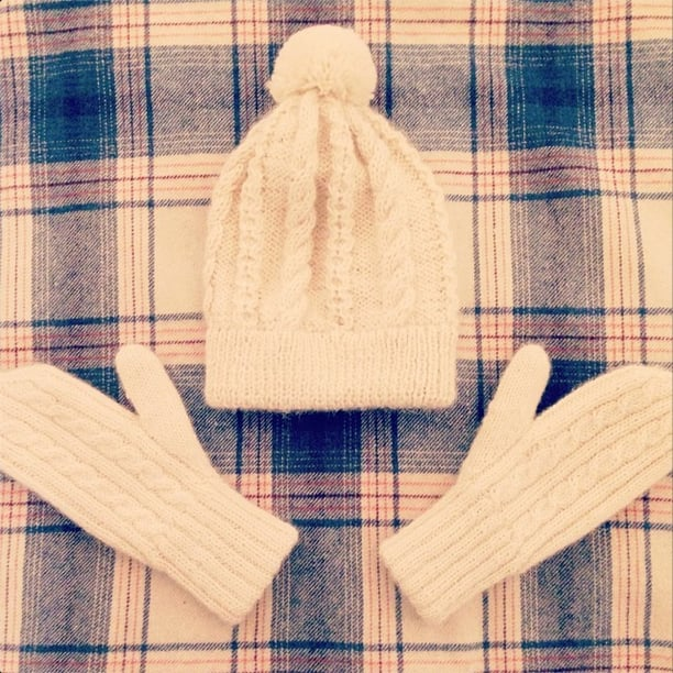There is nothing quite as cute as cozy Winter whites. Source: Instagram user laurenconrad
