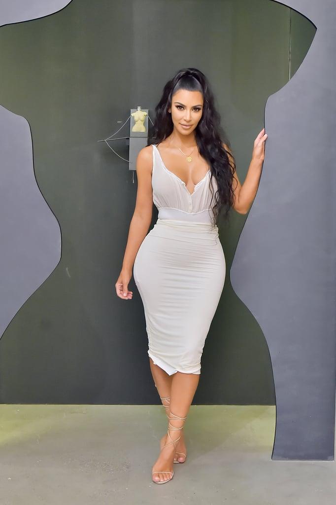 Kim Kardashian's Long Hair March 2019
